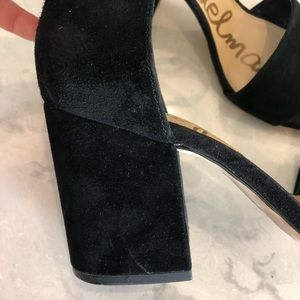 Sam Edelman Shoes - black chunky heel